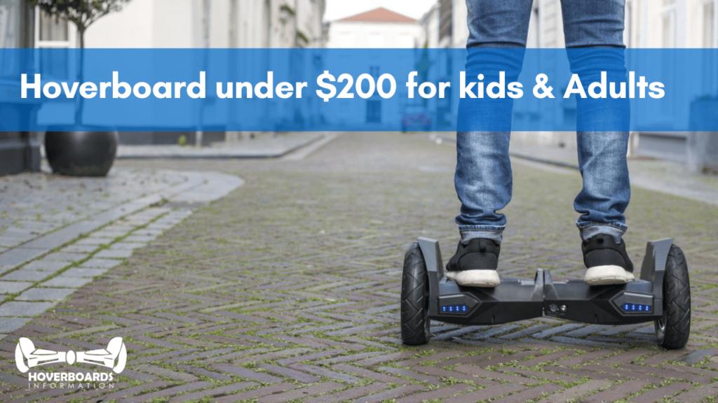 Hoverboard under $200